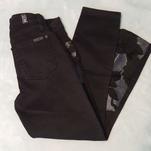 7 For All Mankind Floral Capris